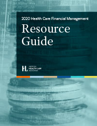 2020 Health Care Transactions Resource Guide Cover Image